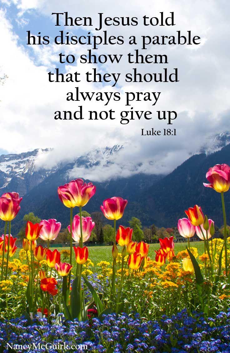 Bible Verse Luke 18:1