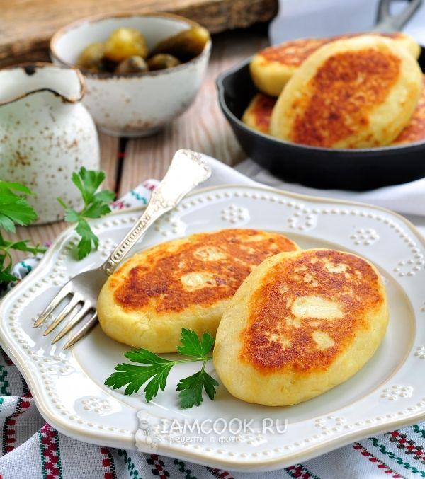 Рецепт картофельных зраз с капустой