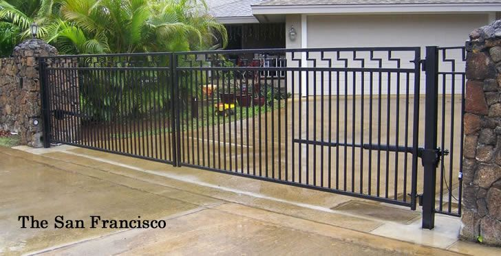 Nice Simple Design For Driveway Gates With Images Ornamental