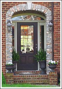 decorated front doors