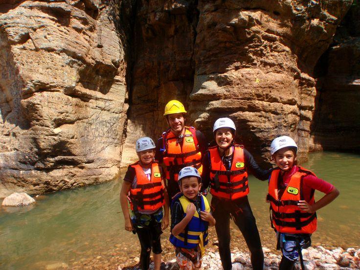 La aventura se disfruta también en familia