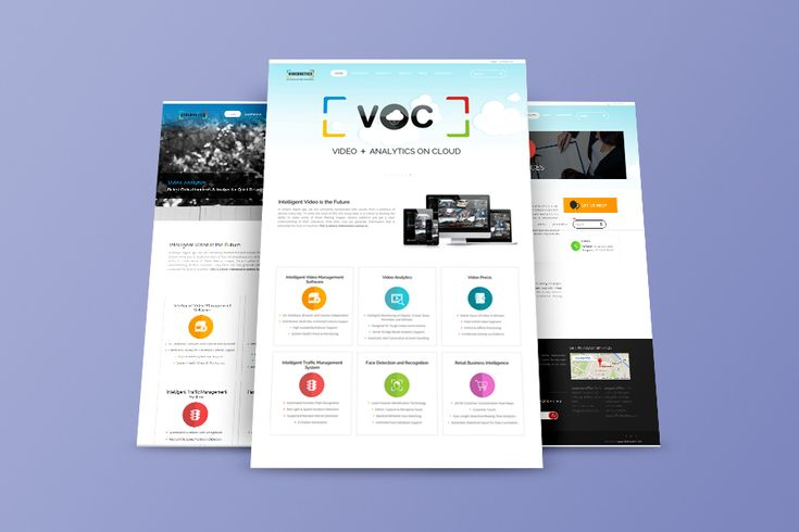 We delivered a custom website design to the client and developed it on WordPress meeting all the requirements.