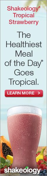 Shakeology -- the healthiest meal of the day goes tropical