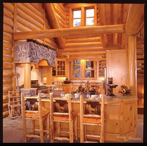 159 Best Inside A LOG Home Images On Pinterest