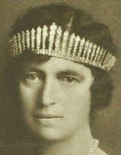 Tiara Mania: Fringe Tiara worn by Queen Alexandrine of Denmark