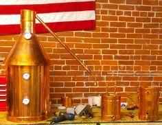 20 Gallon Copper Moonshine / Liquor still Distillation Unit w/ Lifetime Warranty (100% Complete Ready to Use)For sale, Order Now