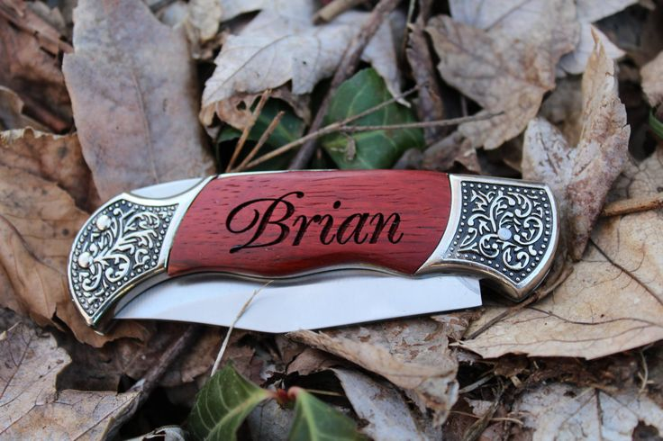 1 Groomsmen Pocket Knife Engraved Pocket Knives Personalized Groomsman Gift Wedding Party Gifts Christmas Gift Engraved Hunting Knife by BackRoadsPZ on Etsy