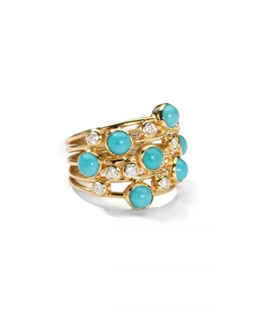 Ippolita+Turquoise+Diamond+Constellation+Ring+7+|+Jewelry+and+Accessory