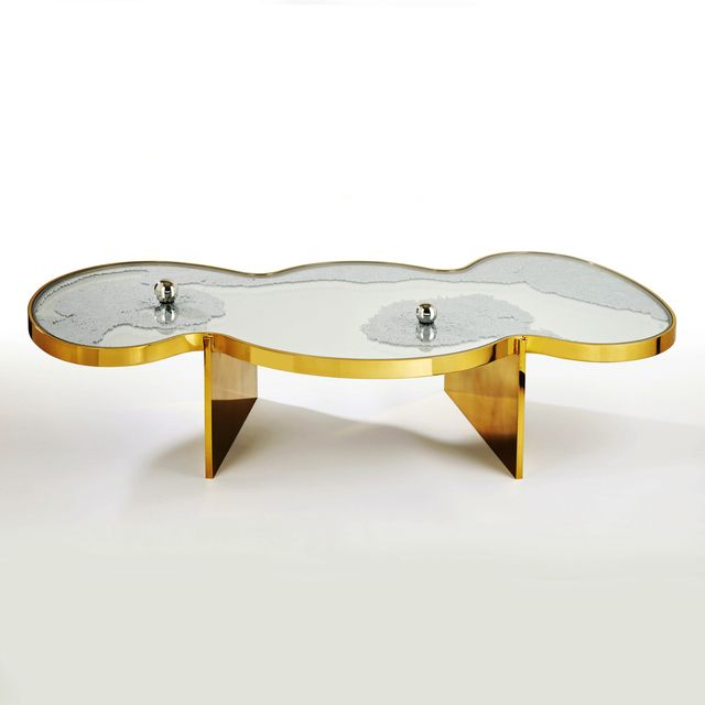 Hubert Le Gall, U0027Frissons Dorée Coffee Table,u0027 2014, Twenty First Gallery