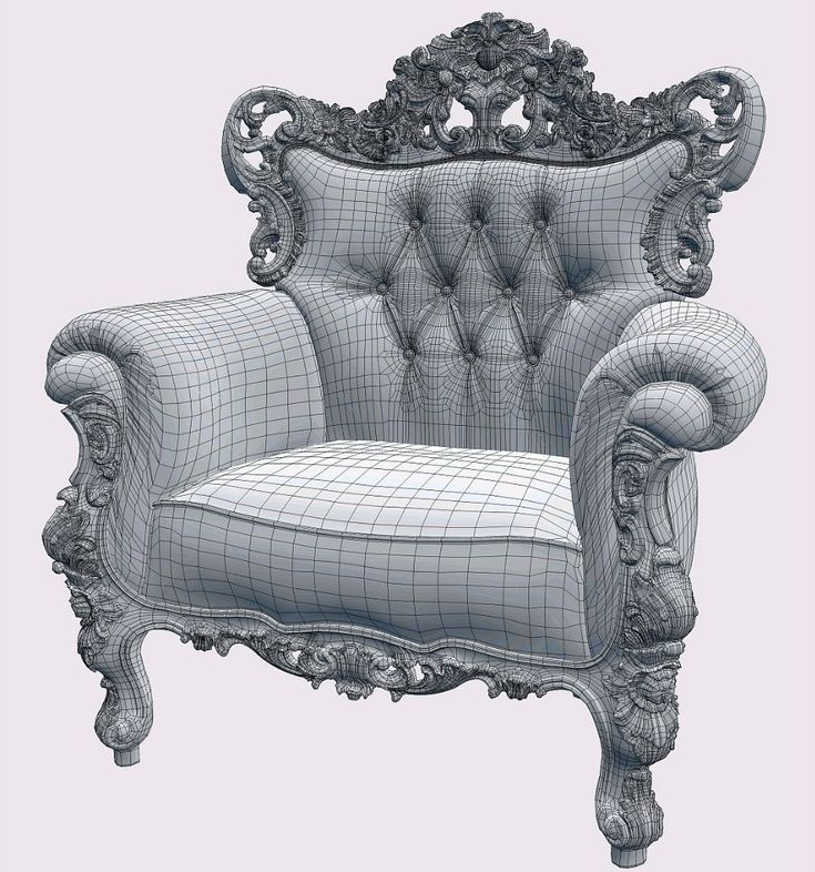 Pin by Sam on topology_hs Armchair, Baroque, Chair