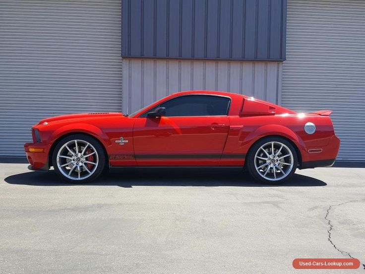 2007 Ford Mustang Shelby GT500 Coupe 2-Door #ford #mustang #forsale #unitedstates
