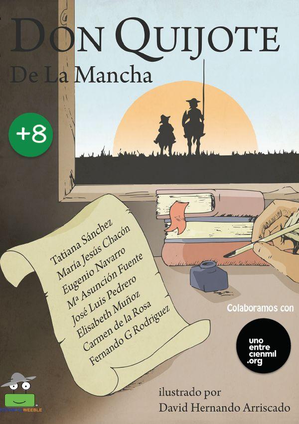 El Quijote para niños en 56 páginas. Descargable.