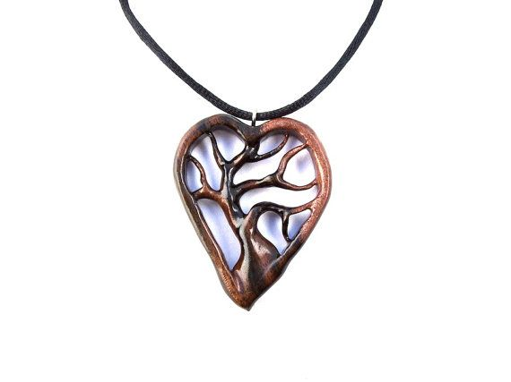 317 best wooden jewelry and inspirations images on pinterest wooden heart necklace heart pendant wood jewelry wooden tree of life pendant tree of life necklace hand carved pendant wooden pendant mozeypictures Choice Image
