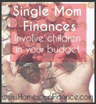 Single Mom Finances