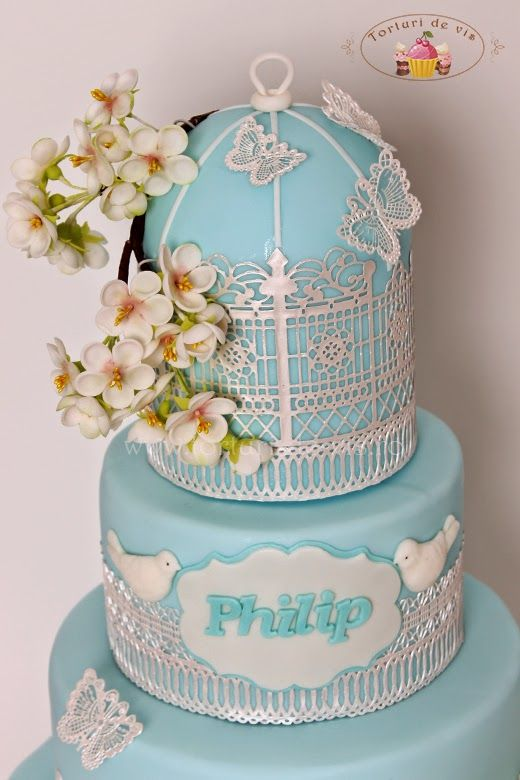Торты - торты Виорика в: Cake крещение марочные клетка