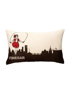 Little Audrey... from the Skipping Girl vinegar sign. MUST have this cushion!