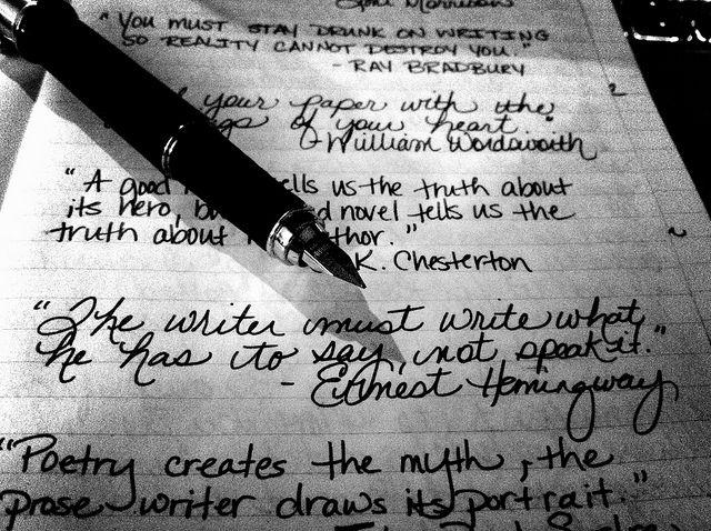 how to write short punchy sentences