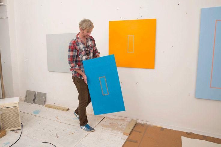 Beaux Arts Gallery - Luke Frost and Simon Allen   Simon Allen   Studio
