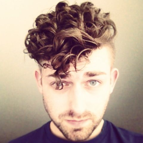 Perm.. Perms Menshair, Men Curly, Men Haircuts, Hair Style, Menshair ...