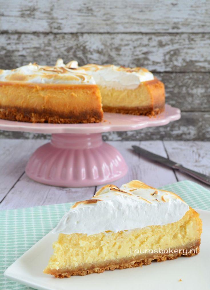 Lemon meringue cheesecake - Laura's Bakery