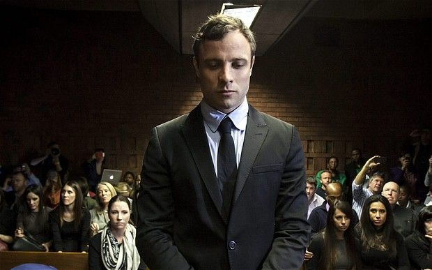 The 28-year-old athlete stood trial on March 3 for the premeditated murder of Steenkamp, 29, a law graduate and FHM model, at his home in the early hours of St Valentine's Day in 2013.The trial was held in the High Court of South Africa in Pretoria
