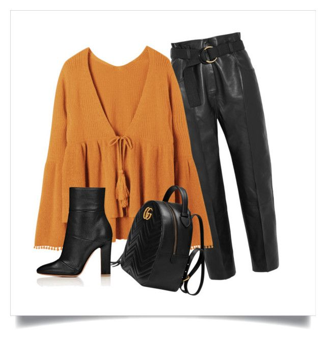 """""""autumn fashion"""" by wearitblack on Polyvore featuring Petar Petrov and Gucci"""