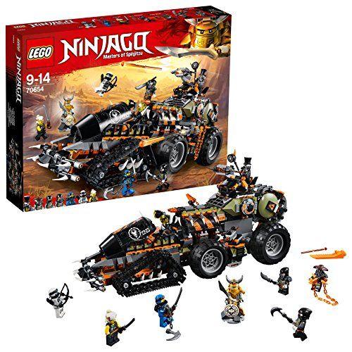 Minifigur Ultra Violet Motorrad 70641 LEGO Ninjago NEU Oni-Maske L@@K