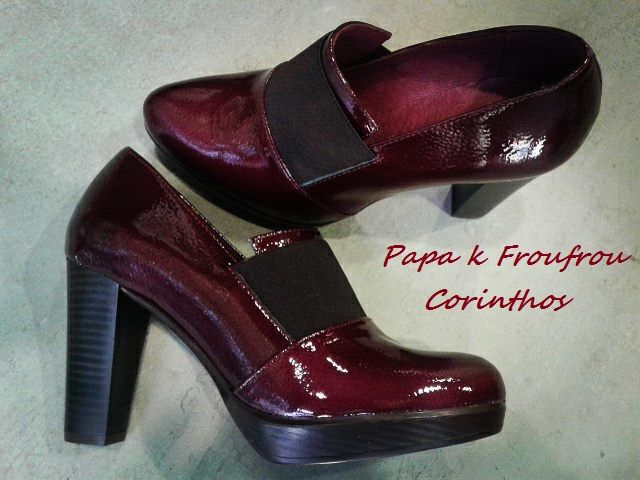 leather ankle shoes Patricia Miller
