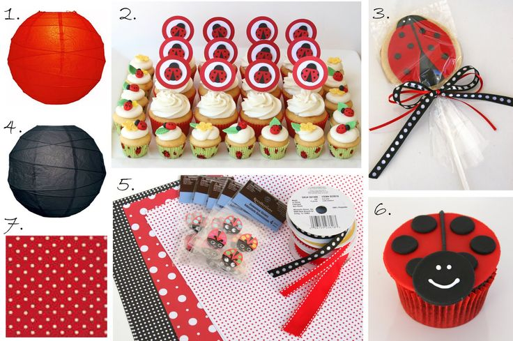 .: Parties Plans, Glorious Treats, 1St Birthday, Parties Ideas, Ladybugs Parties, Party Ideas, Birthday Ideas, Baby Shower