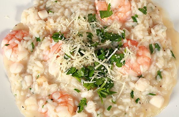 Basic Seafood Risotto Recipe