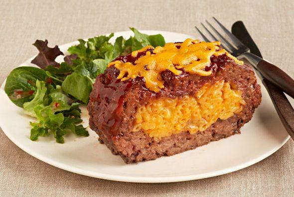 Du macaroni au fromage dans un pain de viande tendre et juteux? Bien sûr, et c'est même plus facile à faire que vous ne le pensez!