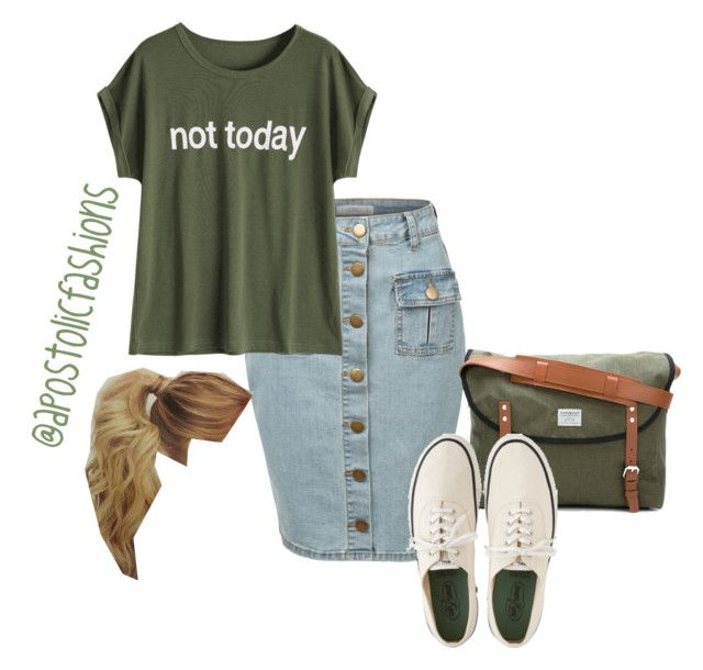 """""""Apostolic Fashions #1785"""" by apostolicfashions on Polyvore featuring LE3NO, Sandqvist and Margaret Howell"""