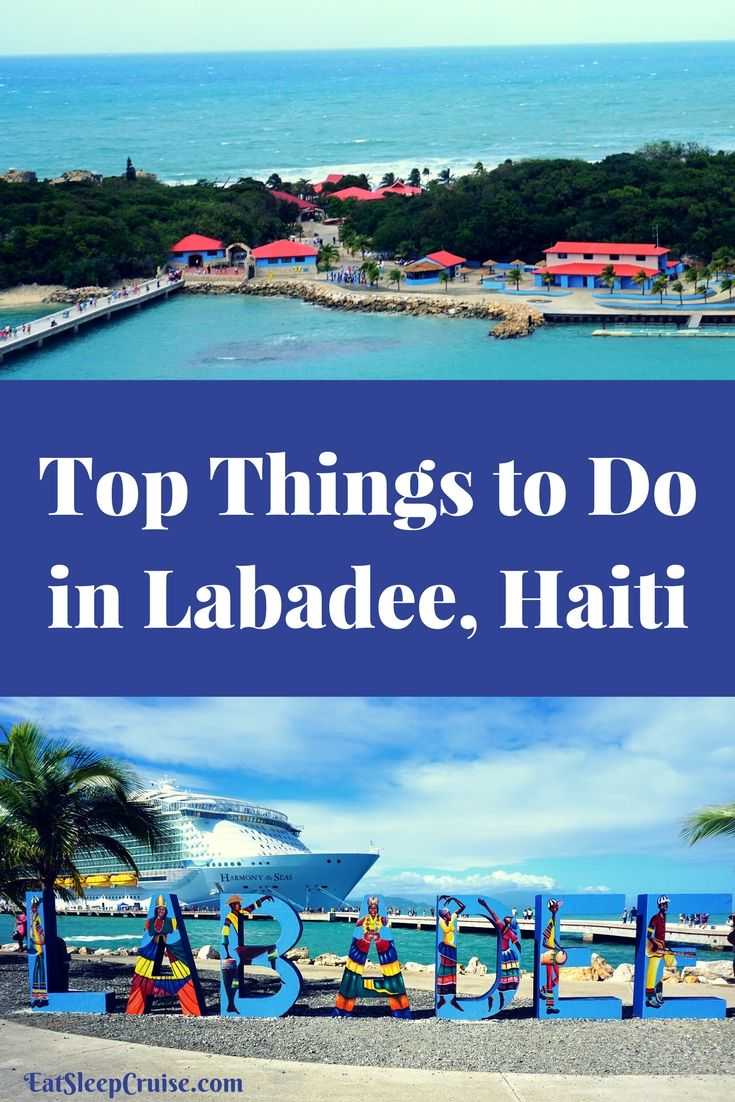 Top Things to Do in Labadee, Haiti. #Cruise #Caribbean #RoyalCaribbean