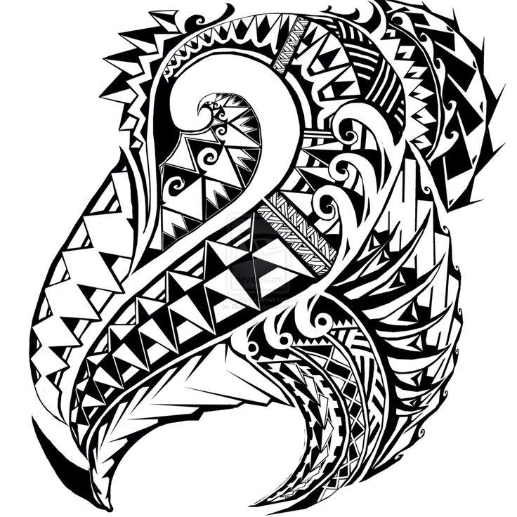 Maori Wave Tattoo: 67 Best Tatuaggi Maori Images On Pinterest