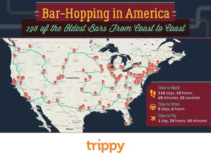 Infographic This Is The Ultimate Guide To The Country S Best Historic Bars