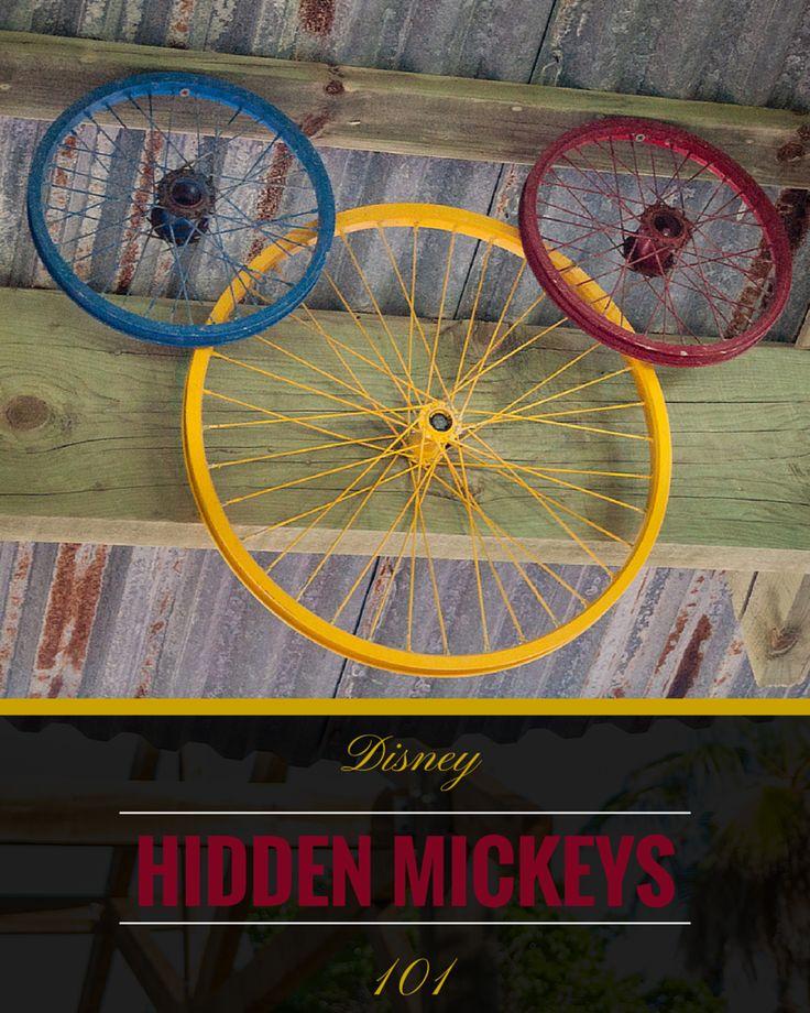 Disney 101: Hidden Mickeys - Frontierland Station | Disney | Tips | Walt Disney World