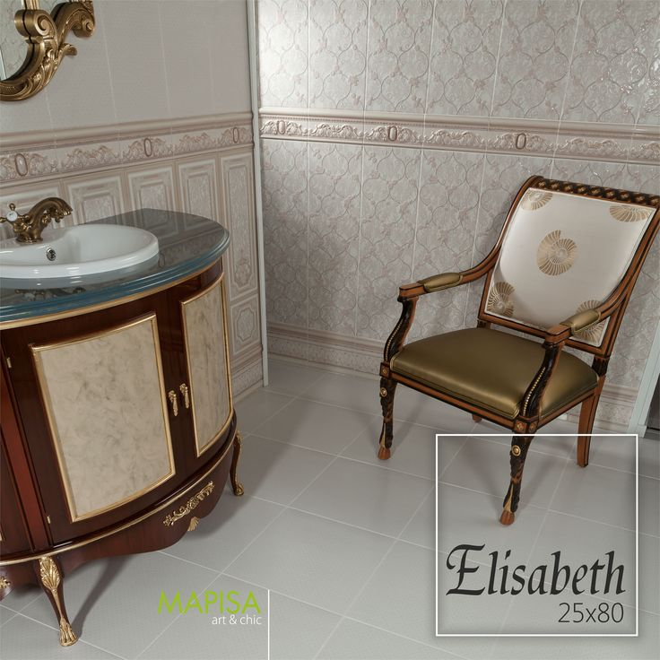 Elisabeth 25x80 La serie Elisabeth te transportará directamente a las realezas más elegantes y distinguidas de la historia, tonalidades pastel con exquisitas cenefas muy elaboradas y llenas de detalle. http://www.mapisa.com/serie/elisabeth/