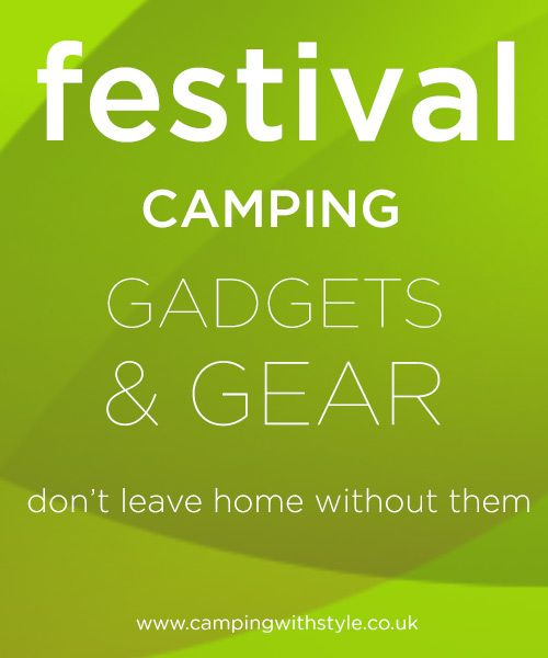 Festival camping gadgets and gear  #festival #camping #gadgets #funky #cool