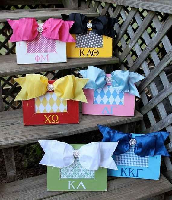You browse Pinterest and tumblr on the reg for sorority crafting ideas. | 20 Signs You're A Sorority Girl