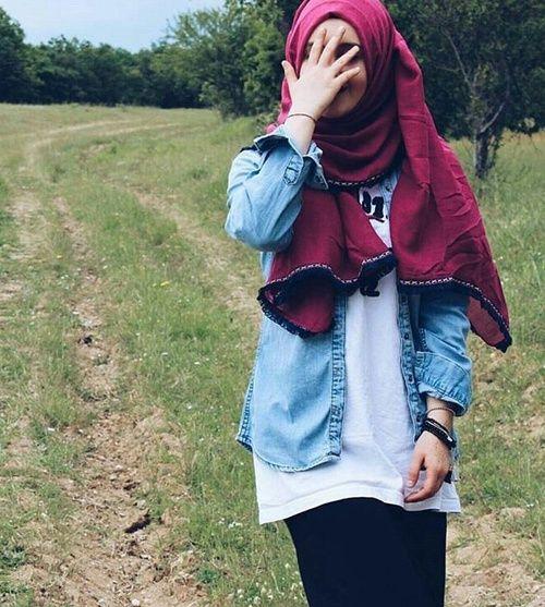 hijab and muslim resmi
