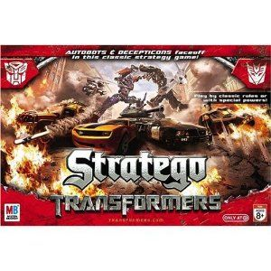 Transformers Board Game - Stratego where Autobots and Decepticons Faceoff in this classic game