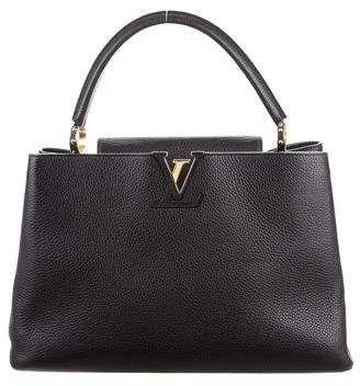 Louis Vuitton Taurillon Capucines GM Authentic Louis Vuitton Bags