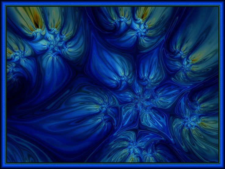 https://flic.kr/p/L8AxGE | Blue Translation of Dreams | Created with Ultra Fractal