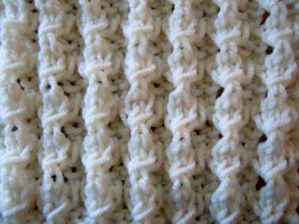 Puffed Rib Stitch.  Has a nice dimension to it and is not too difficult. Lots of stretch to this ribbing.