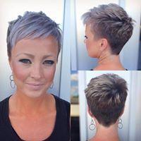 Kurz und fransig! Diese Frisuren bleiben 2019 weit verbreitet und voll im Trend! – Damen Frisuren