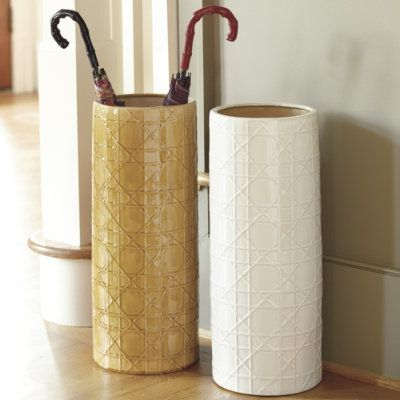 Ballard Designs - Gabriella Umbrella Stands #ceramic #geometric