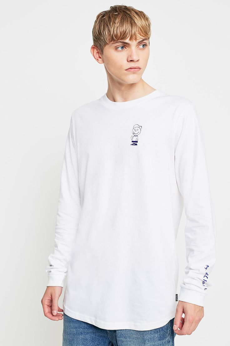 Shop Wemoto Voila Merci Bien White Long-Sleeve T-shirt at Urban Outfitters today. We carry all the latest styles, colours and brands for you to choose from right here.