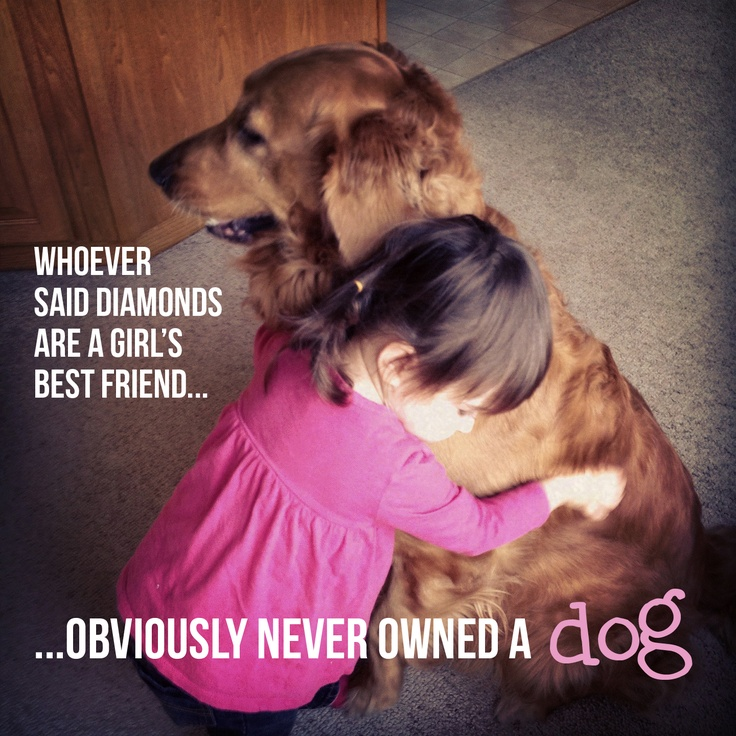 anna ink. designs | Our daughter and dog, Bondi, enjoying a moment. I don't know the origin of the quote.