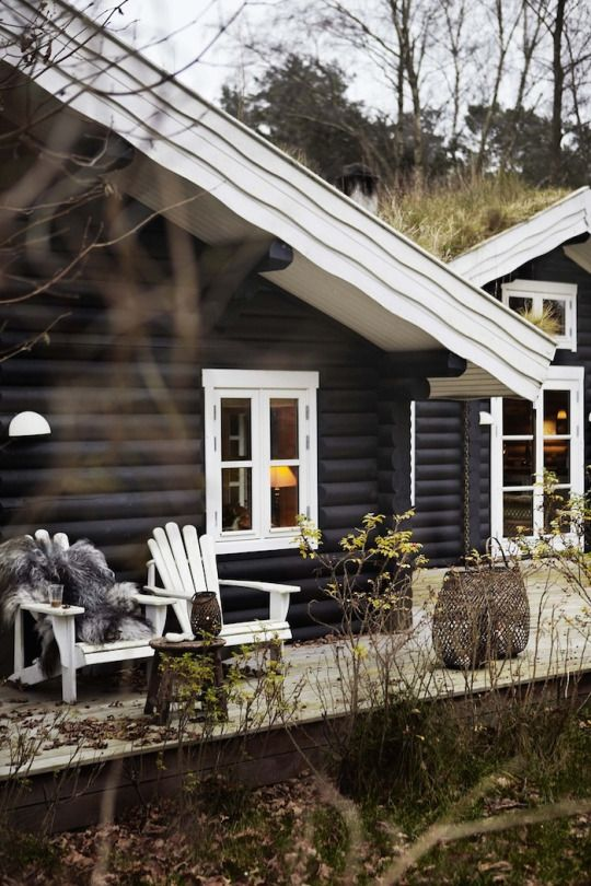 black cabin / The Green Life <3