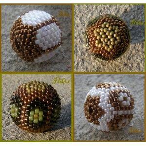 Schemas de bijoux en perles : Schema Perle Biarrote